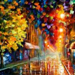 Happy Street by Leonid Afremov